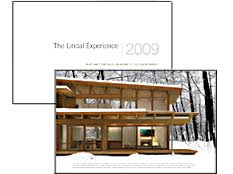 The Lindal Experience 2009: a little book with a lot to say about responding to the environment.