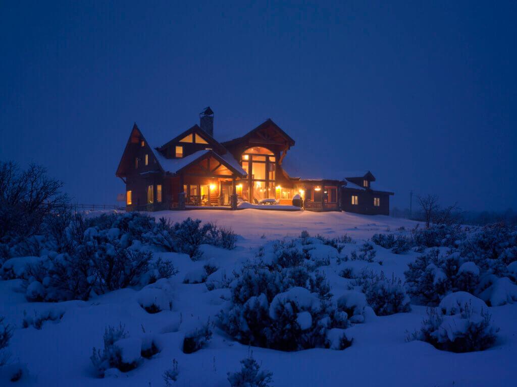 living off the grid home colorado classic lindal cedar home