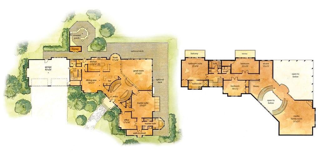 Casa islena lindal cedar homes for Lindal homes floor plans