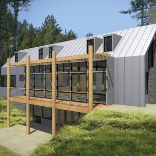 An Architect-Designed Lindal in the San Juan Islands