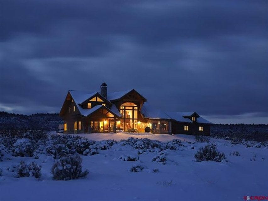 eco built homes by Lindal Cedar Homes and Majestic Peaks