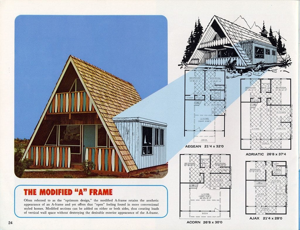 The Lindal 1967 A-Frame