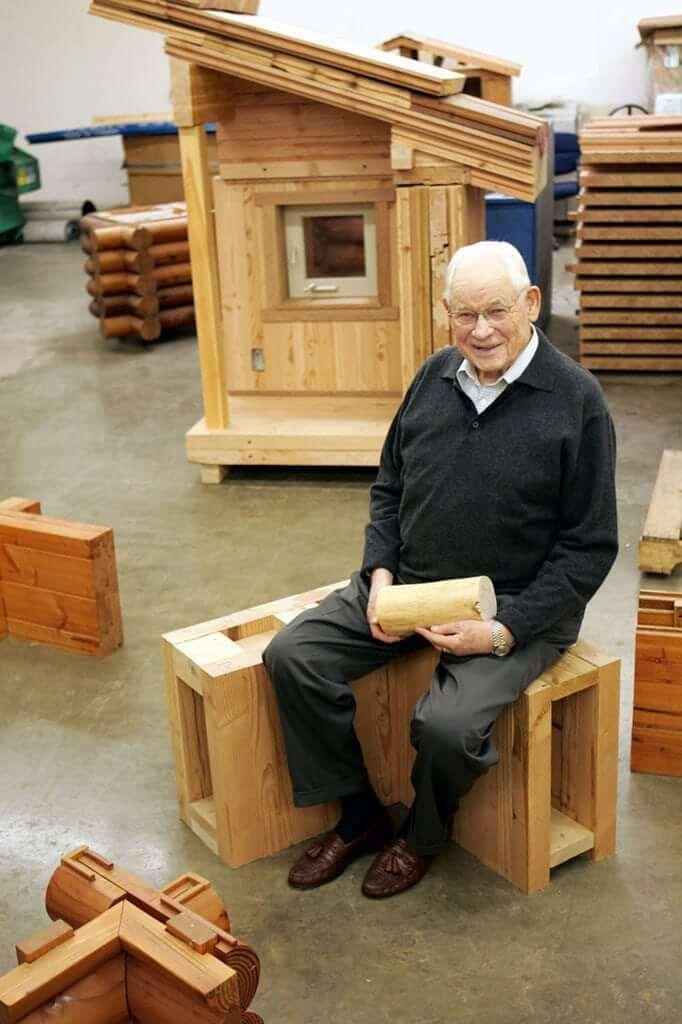 Sir Walter Lindal workshop