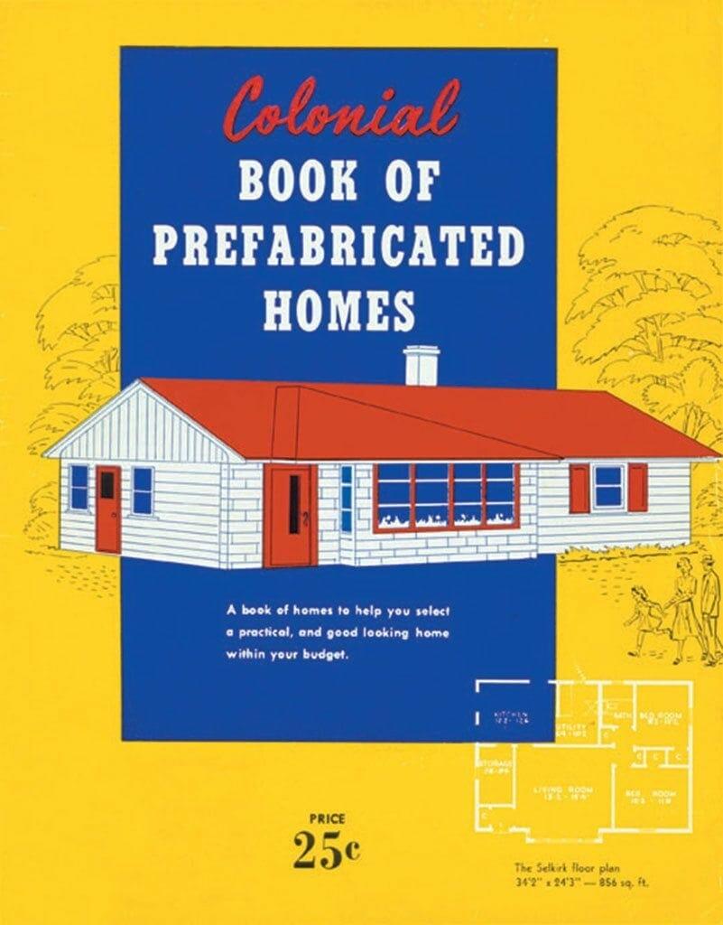1945 Home Design Plan Book