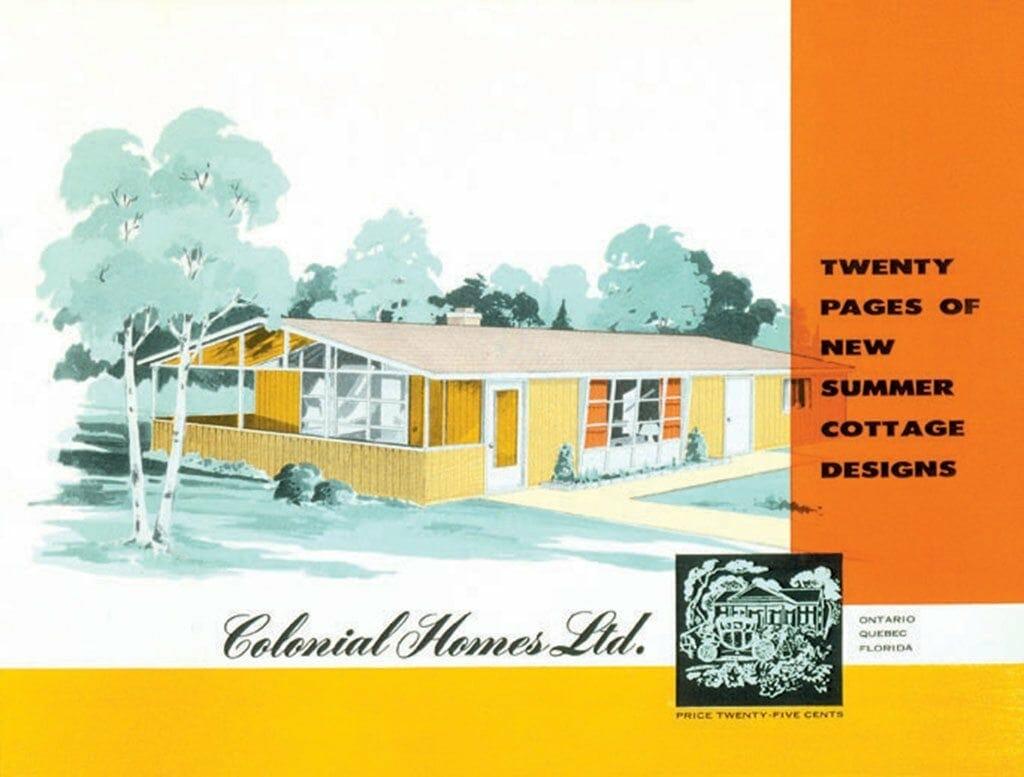 1955 home design plan book - 1955 Home Design
