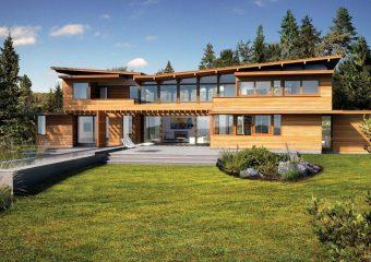 Turkel Design For Lindal Cedar Homes Architect Home Design