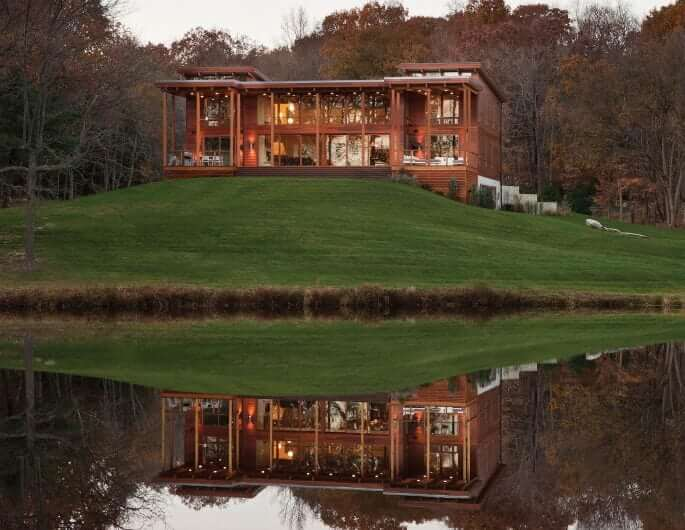 Dwell homes collection lindal cedar homes for Lindal home plans