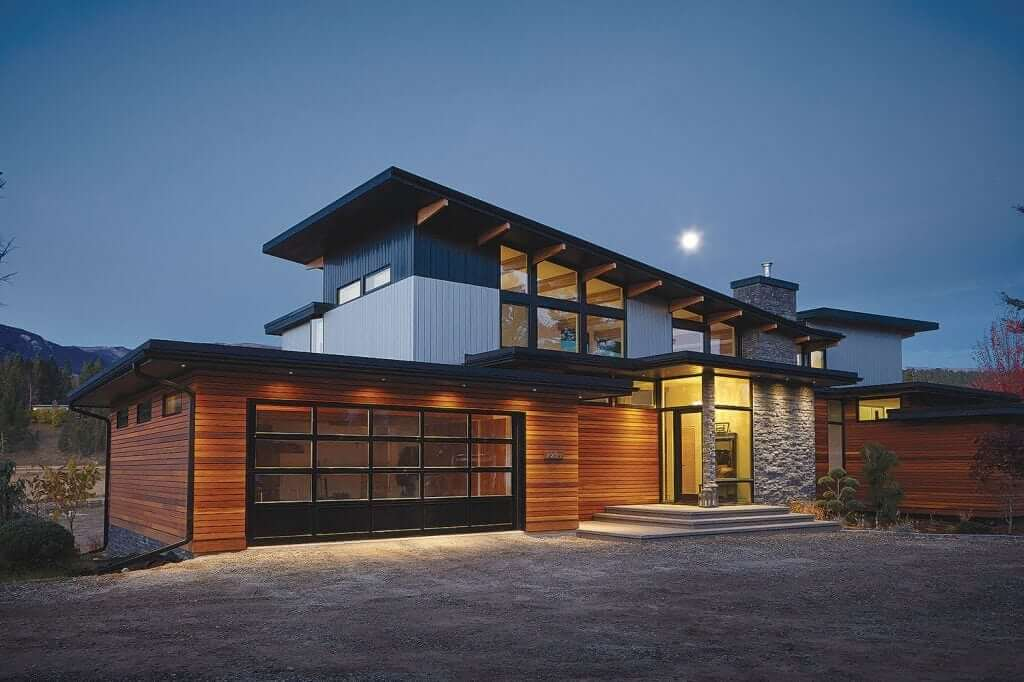 Modern Home Designs | Lindal Cedar Homes | Kit Homes