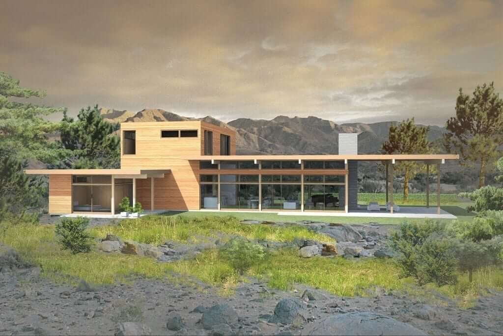 Marmol Radziner 2810 architect designed home