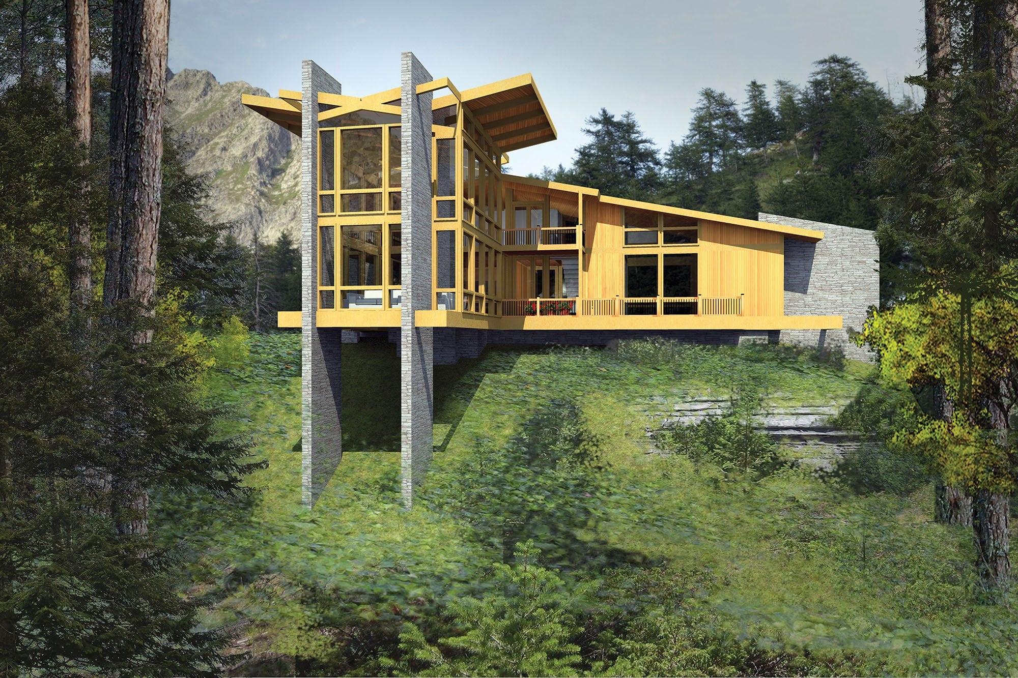 Lindal Homes Floor Plans Frank Lloyd Wright Taliesin 2840 Lindal Architects