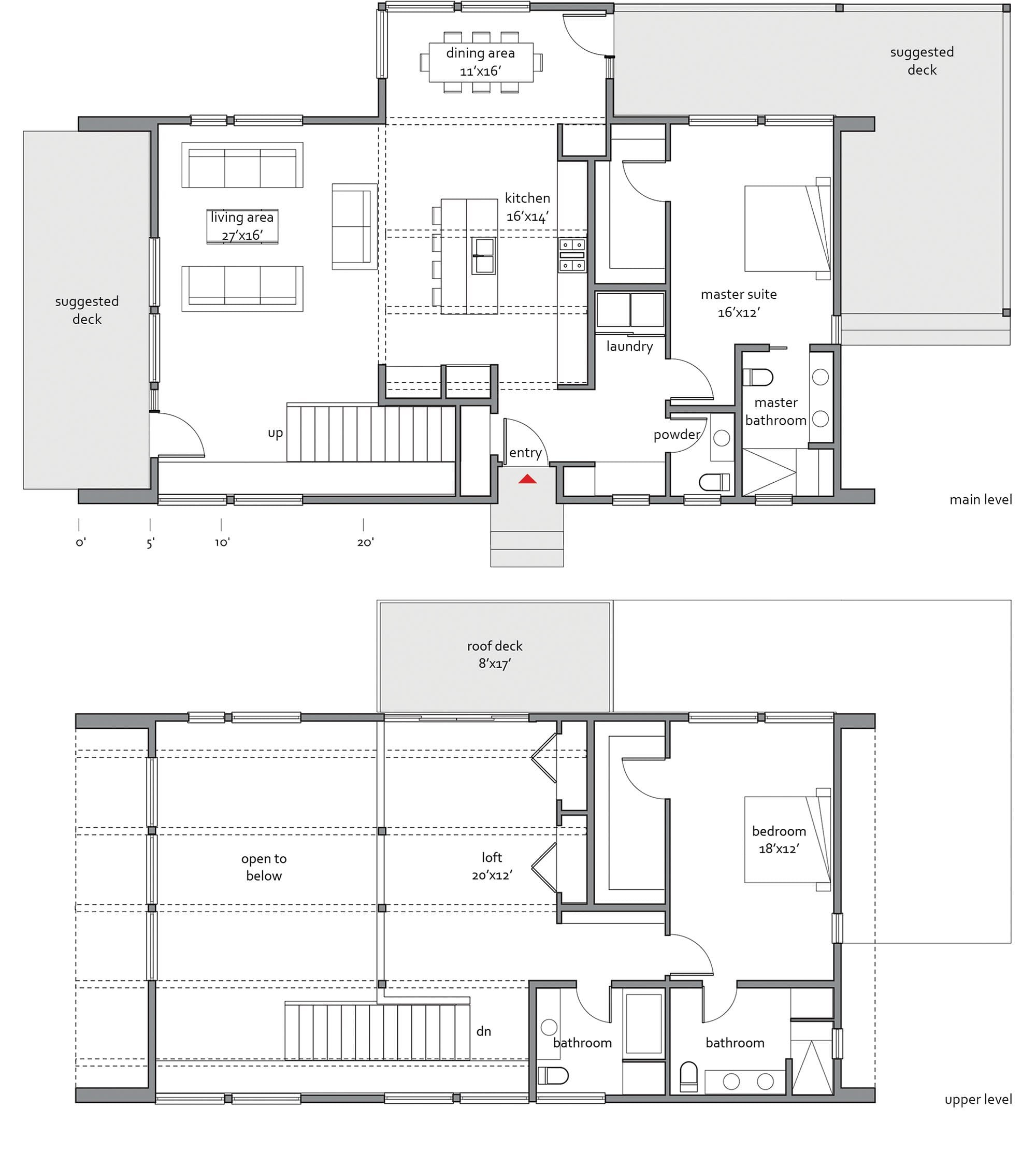 Lindal cedar home floor plans for Dwell house plans