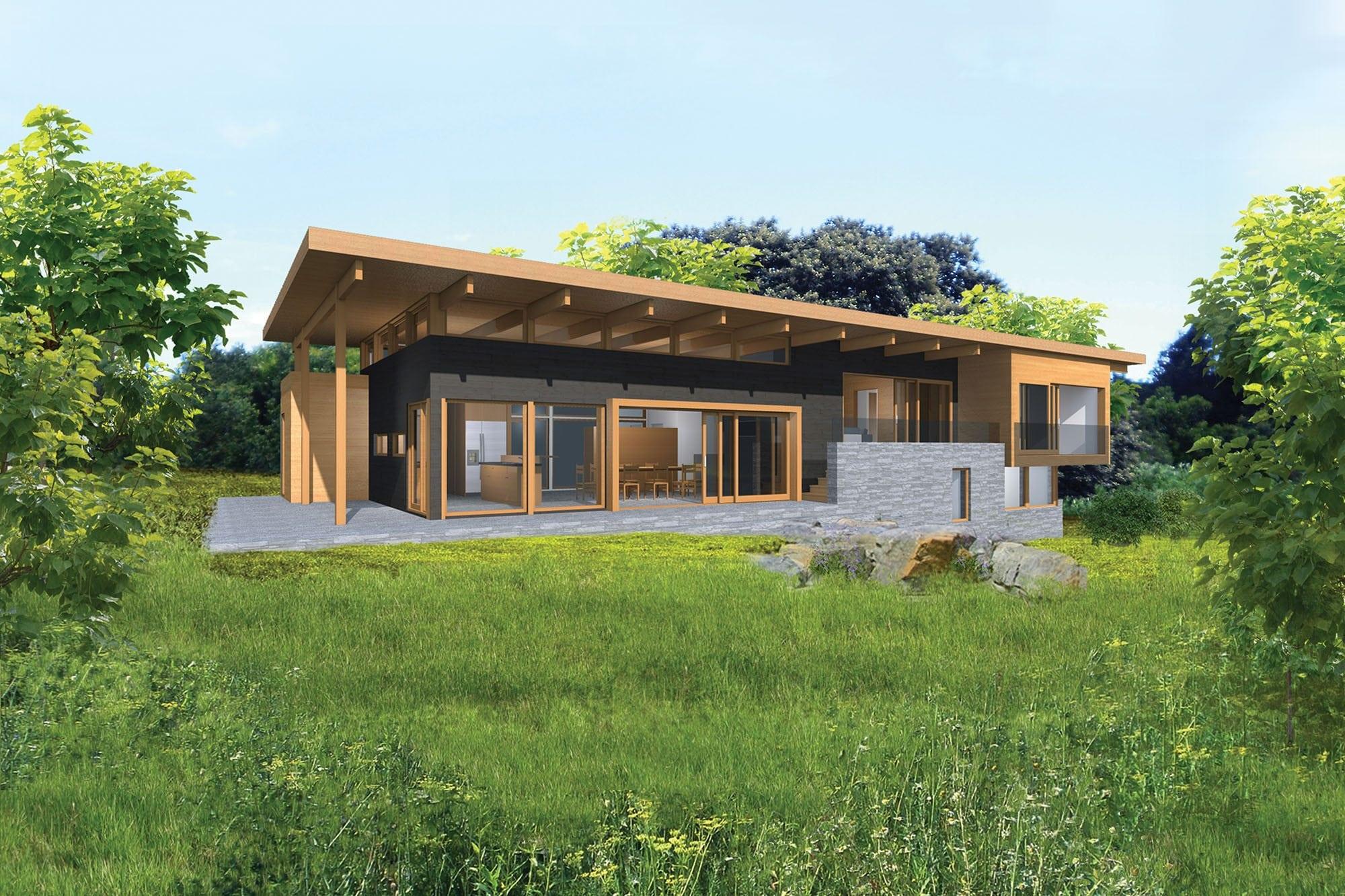 Altius 2540 Home Design Lindal Architects Collaborative