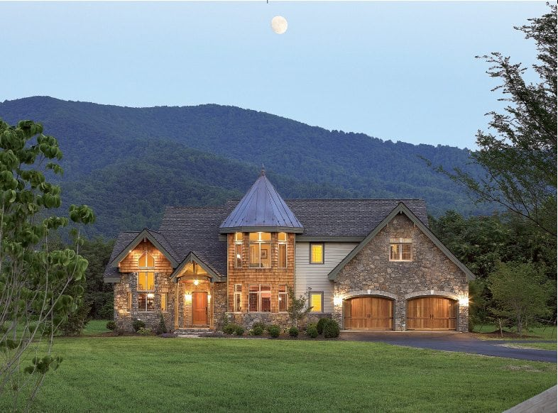 A Classic Lindal home by Tectonics, located in Virginia.