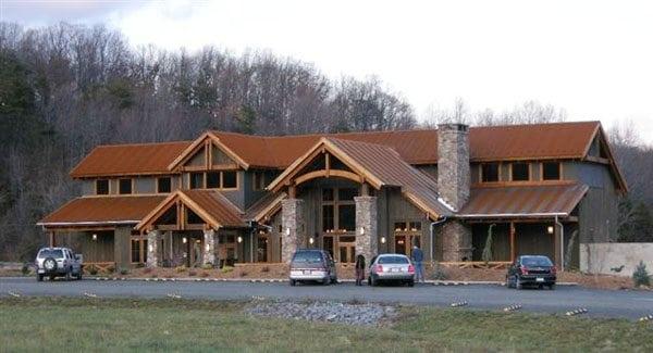 Lindal Cedar Home DEVILS BACKBONE BREWING COMPANY