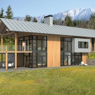 Home styles lindal cedar homes custom home designs - The chapel cottage historic vestige in contemporary lines ...