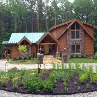 A Custom Lindal Cedar Home in Virginia