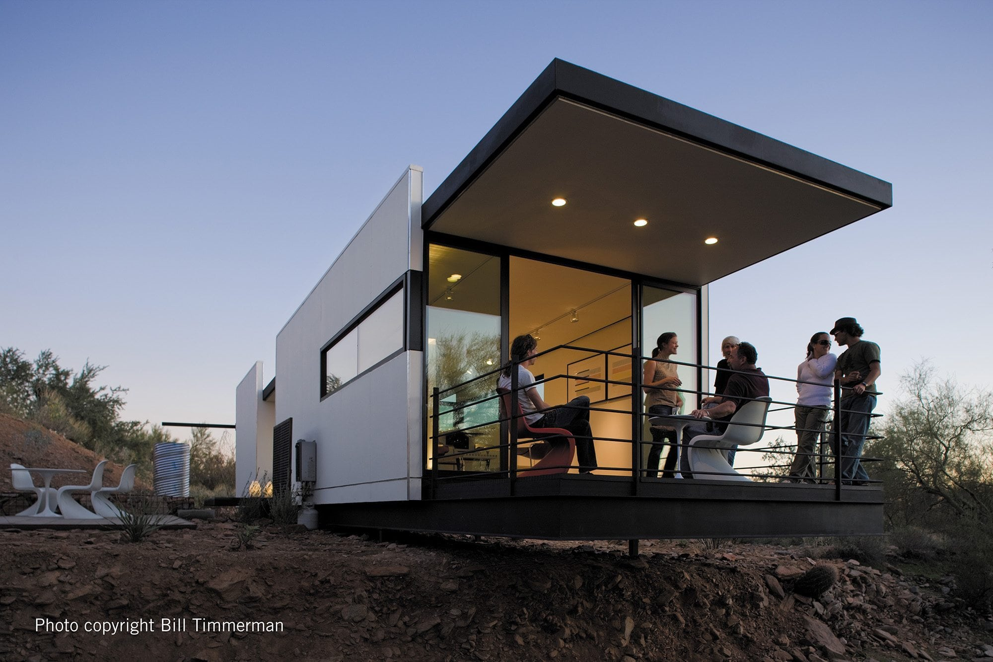 Modern Small Homes mod.fab 470 - lindal cedar homes small homes