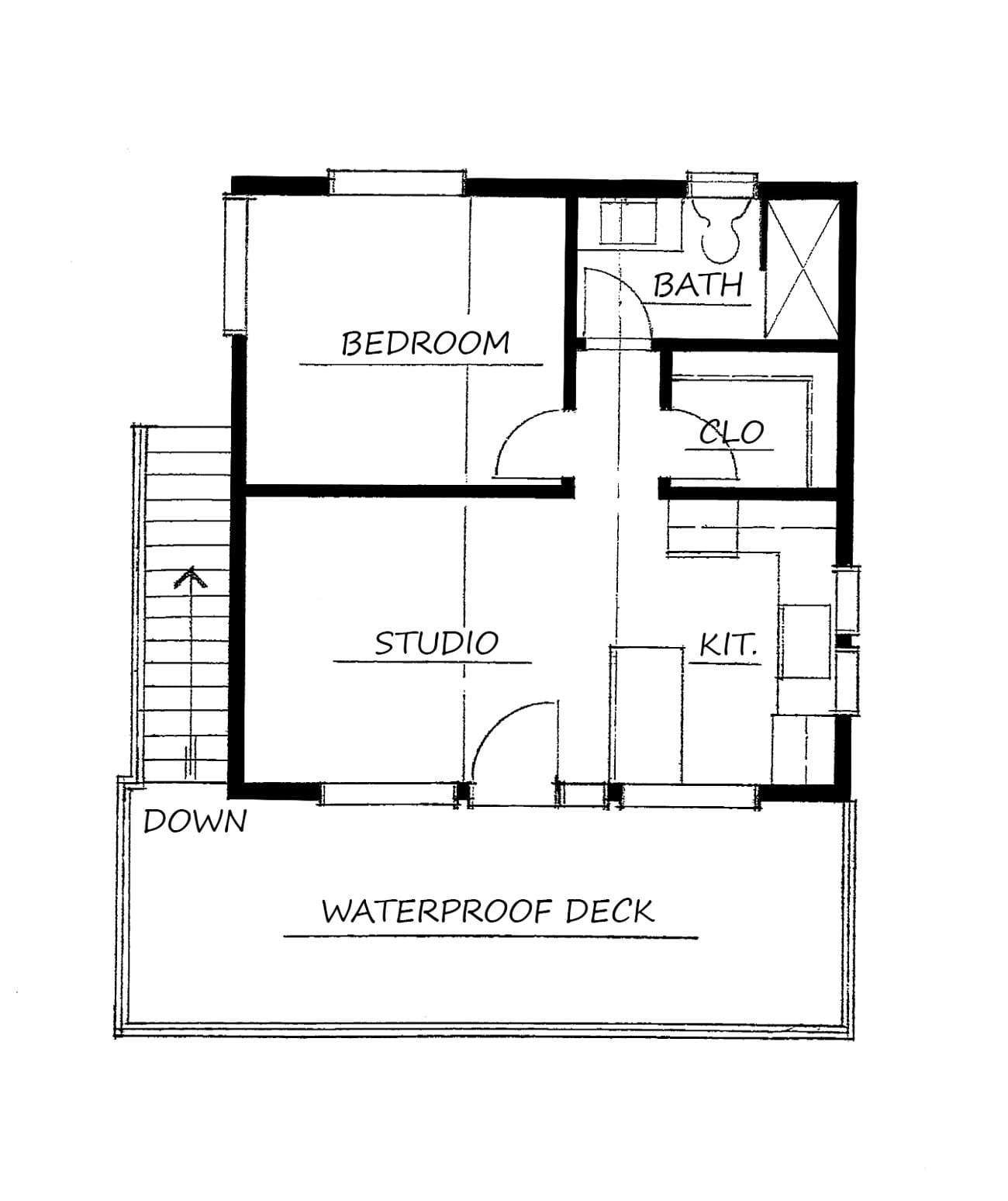 Alder Studio Apartment