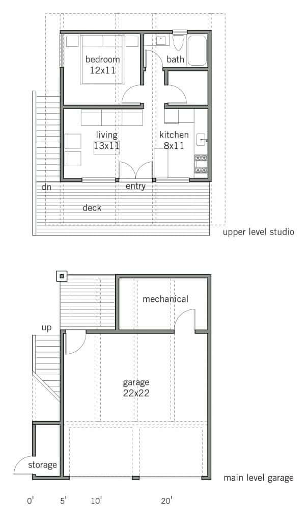 Alder ADU Home Floor Plan