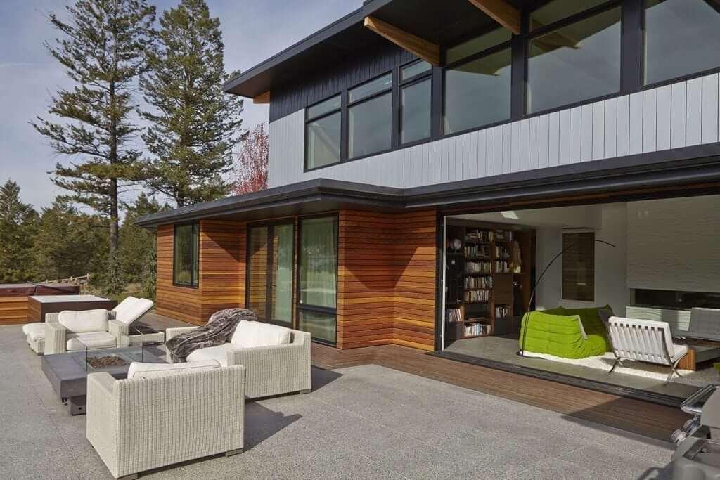 Modern home designs lindal cedar homes kit homes for Lindal homes floor plans