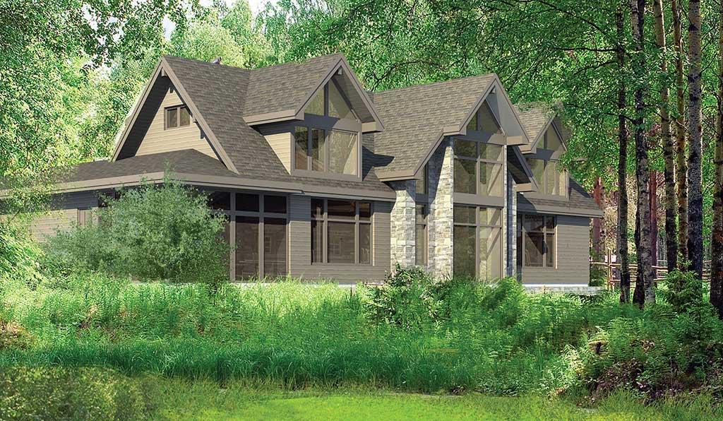 Creekside Lodge Lindal Cedar Homes