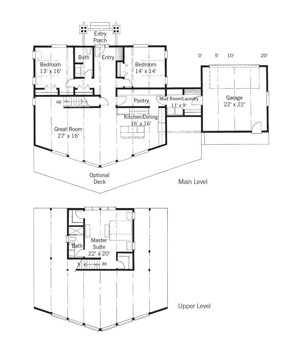 Summit Rainier Home Design Floor Plan