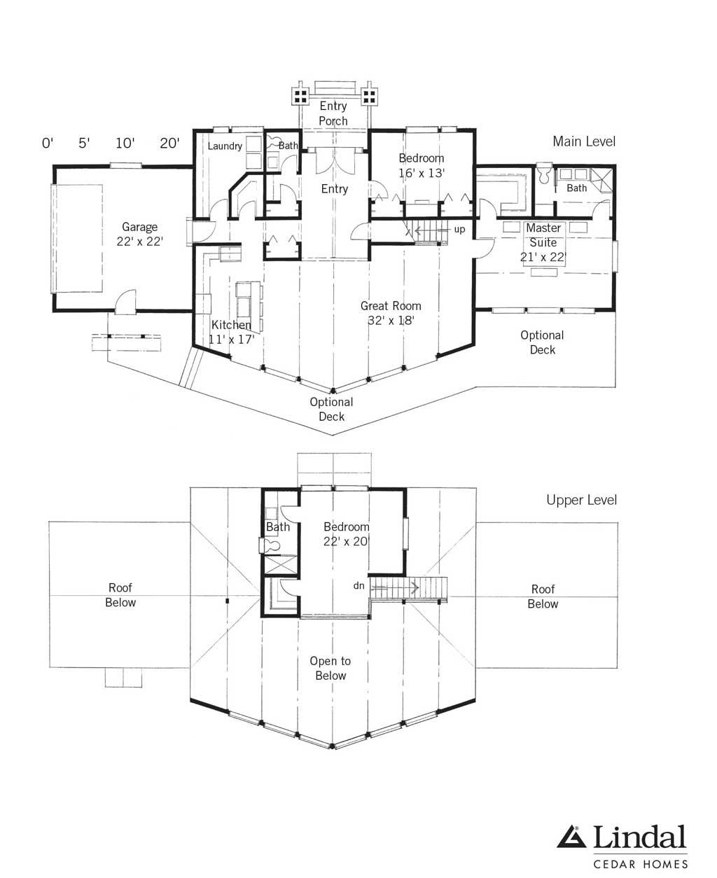 Summit star edgeport home design lindal cedar homes classic for Lindal homes floor plans
