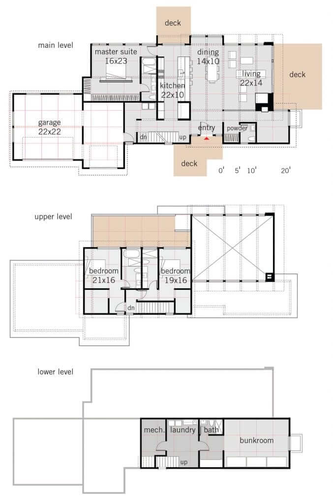 Floor Plans OM Studio Design Olon 3233