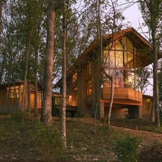Sustainable Living in a Lindal Home