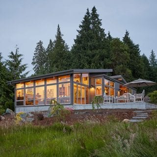 A Waterfront Custom Home Design