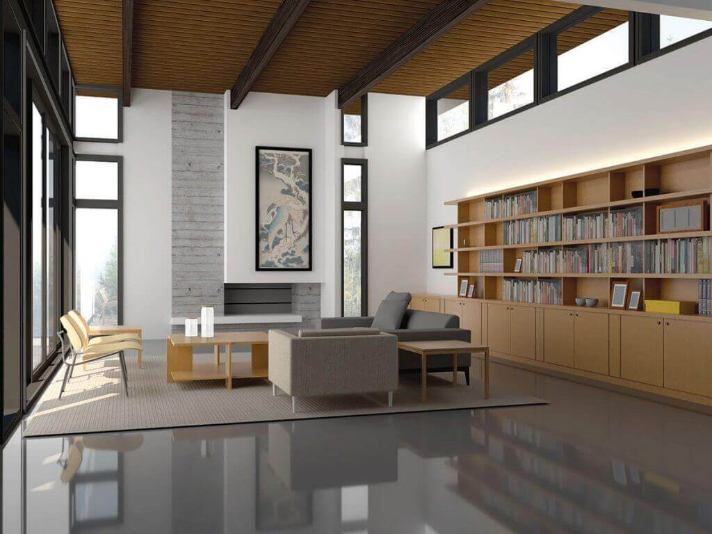 Usonian-Jacobs-Madison-interior-rendering