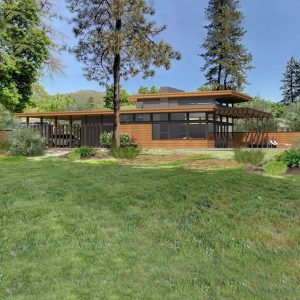 usonian house plan highland park Lindal Imagine Series