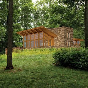 Usonian House Plan Mirror Lake Lindal Imagine Series