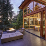 41352 Elements Contemporary house outside patio