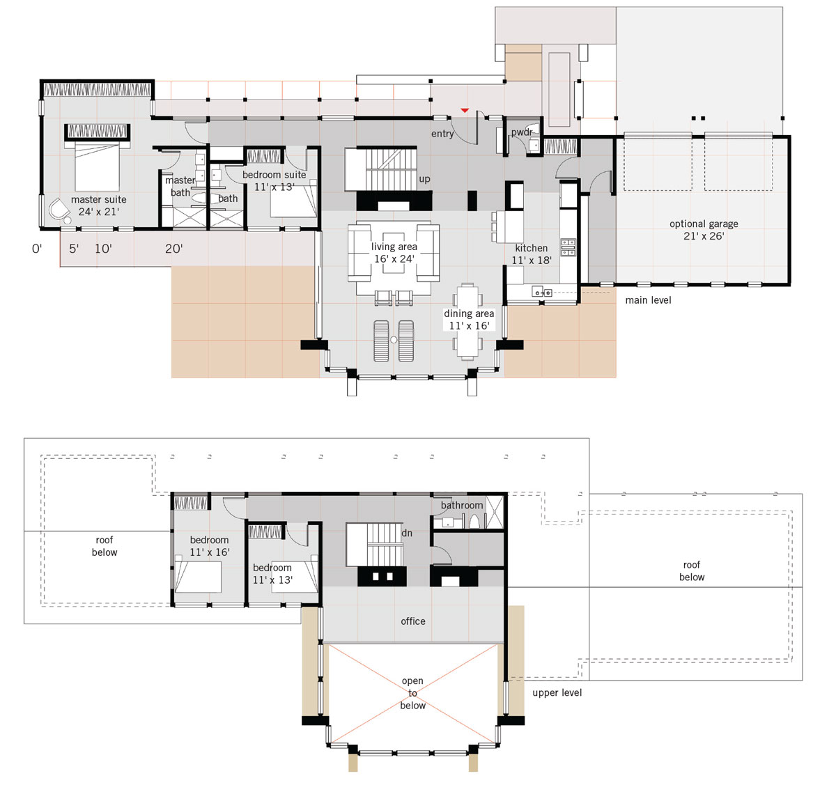 Tetra floor plan OM Studio