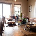 41578 Traditional Custom Interior Dining Table