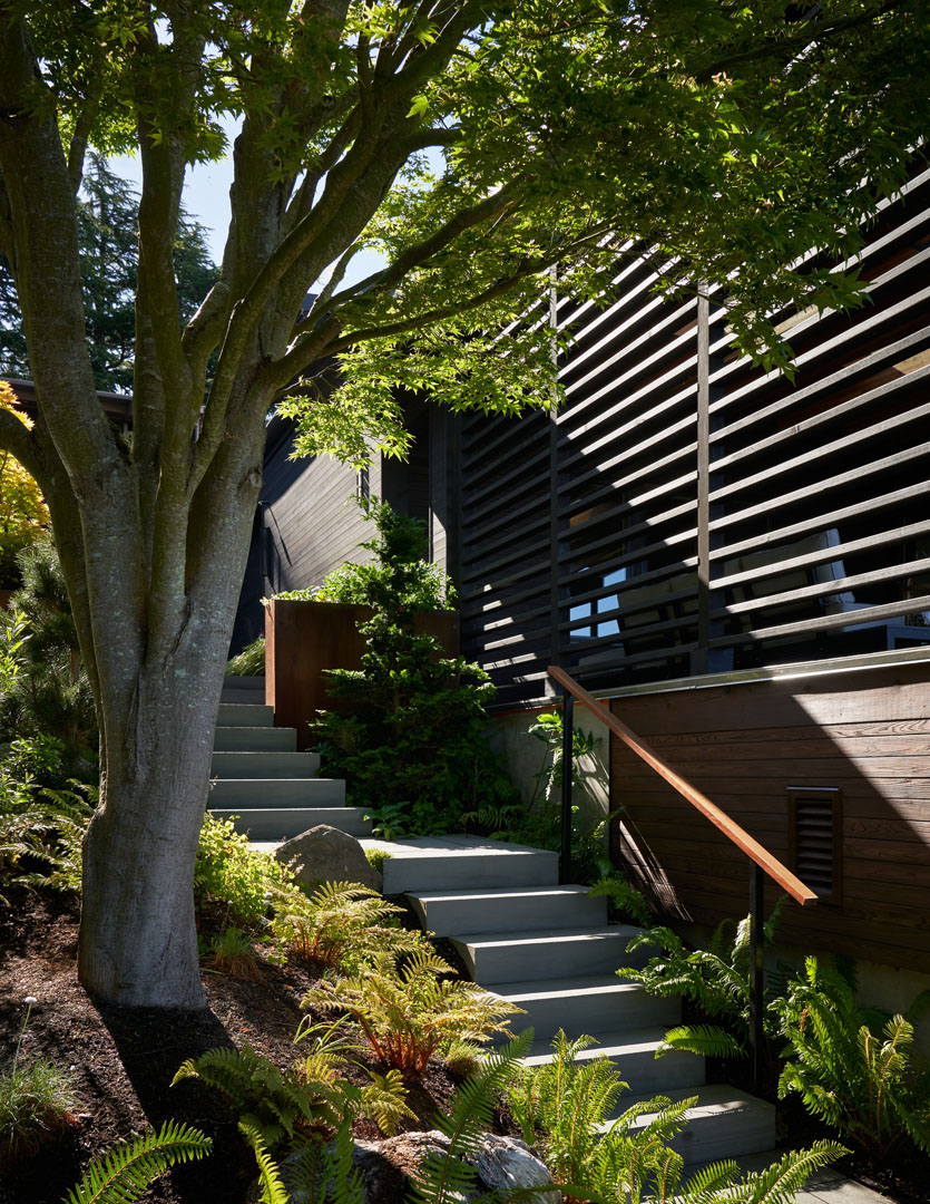 Japanese Style Garden stairs