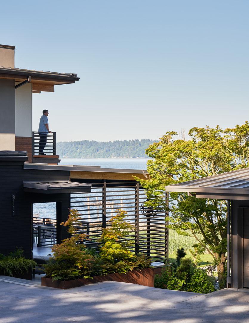Beach House Plans Deck and Indoor Outdoor Room