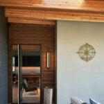 41758 Beach House Entry Pivot Door