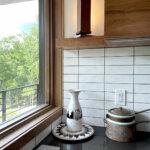 41921 Crystal Springs Usonian Frank Lloyd Wright House_Kitchen Tile Detail